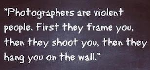 Beware of photographers