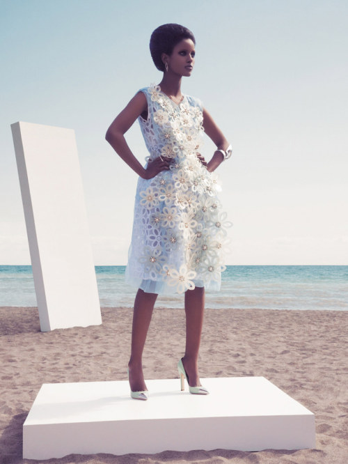 Senait by Lily & Lilac for Dress to Kill, summer 2012 This editorial is out of control!