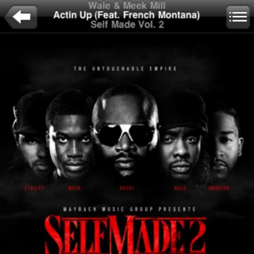 Can't stop playing this song  #MMG #Music #selfmade2 (Taken with Instagram)
