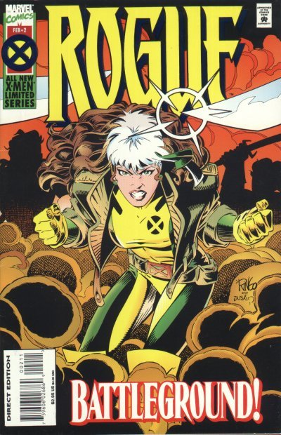 Where the Wonder Women Are: #2 Rogue  The Rogue I loved as a teenager is snark and fire, anger and untapped, uncontrolled power, rage and angst.