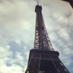 #paris #eiffeltower  (Taken with Instagram)