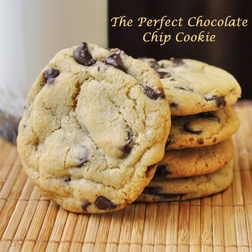 Perfect Chocolate Chip Cookies  |  Rock Recipes