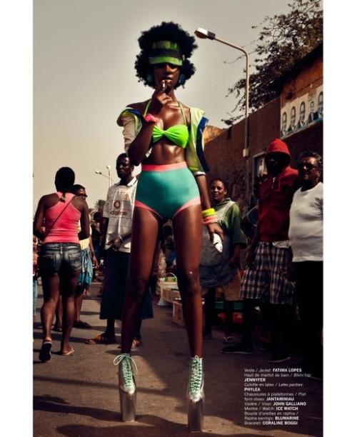Raquel Pinto for FASHIZBLACK Magazine