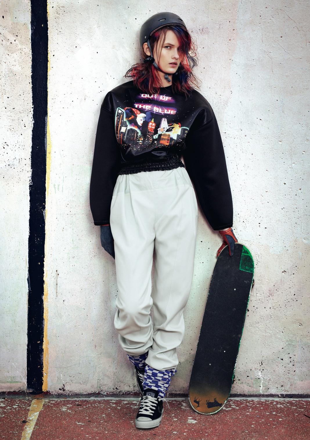She Was A Skater Girl - Dazed & Confused August 2012