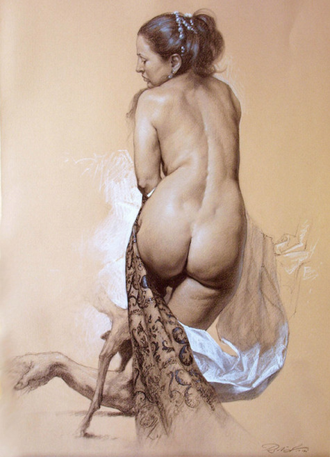 no doubt that this man is amazing!  love it  {CD} cavetocanvas:  Roberto Ferri, Venus