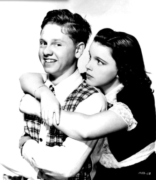 judyforever:  Mickey Rooney and Judy Garland for Love Finds Andy Hardy (1938)
