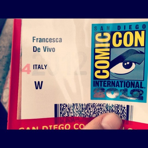 At last #comiccon (Taken with Instagram)