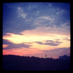 #sunset (Taken with Instagram)