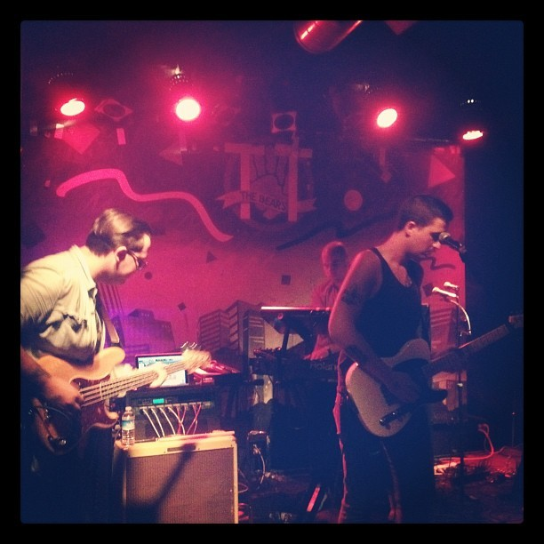 Musics with @bearstronaut (Taken with Instagram at TT the Bear's Place)