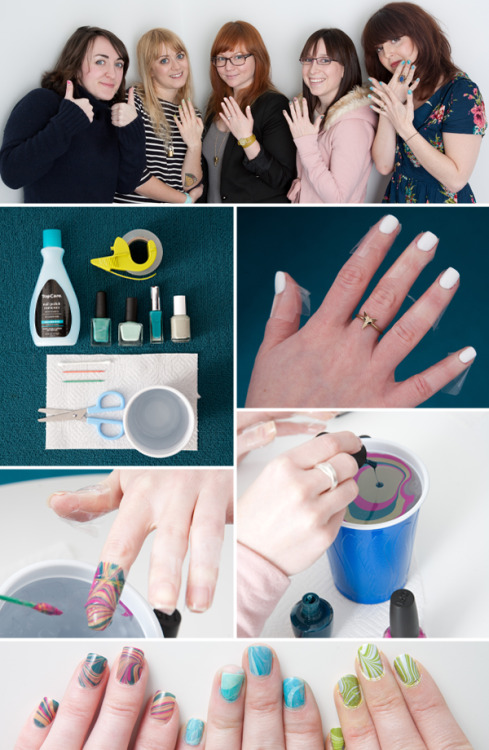 modcloth:  Ever wish you had a team of nail gurus right at your fingertips? Look no further than the ModCloth Nail Klub! Started by members of ModCloth's Pittsburgh office, the Nail Klub meets monthly to dish about awesome new designs, try out new techniques, and paint their nails, of course! Best of all, the door of the Klub is always open to new members, and you're invited to join in on the fun! Today we'll be sharing some of our favorite Nail Klub tutorials along with plenty of nail art inspiration from around the web!