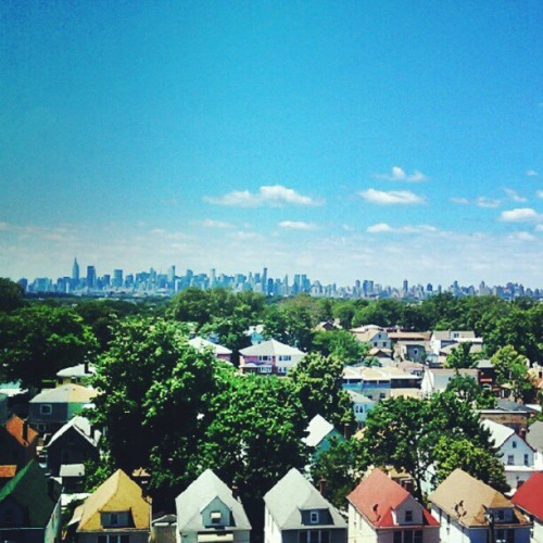 New York City from a distance  (Taken with Instagram)