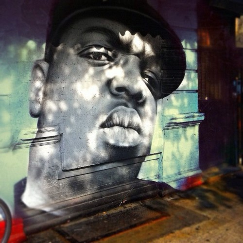 #Biggie #NotoriousBIG #BiggieSmalls #HipHop (Taken with Instagram)