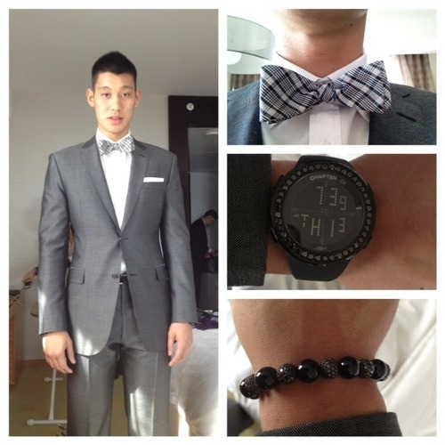 Jeremy Lin's outfit for the 2012 ESPYS!