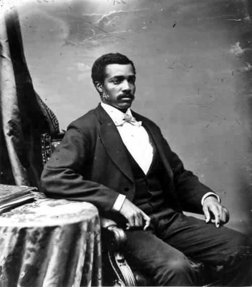 auntada:  Portrait of Congressman Josiah Thomas Walls Taken between 1871 and 1876 State Archives of Florida, Florida Memory, http://floridamemory.com/items/show/24810 Josiah Walls became the first African American to represent the state of Florida in Congress. He served from March 4, 1871 to January 29, 1873 and then again from March 4, 1873 until April 19, 1876. Read more about him here.
