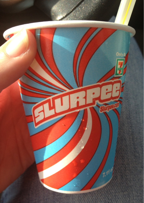 Got my free Slurpee to celebrate 7/11 day!