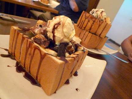 sempersax:  Honey Toast at Shokudo in Honolulu near Ala Moana.  You should definitely go there because everyone should experience an orgasm in they mouf. Subbmitted by: http://didielovestea.tumblr.com/