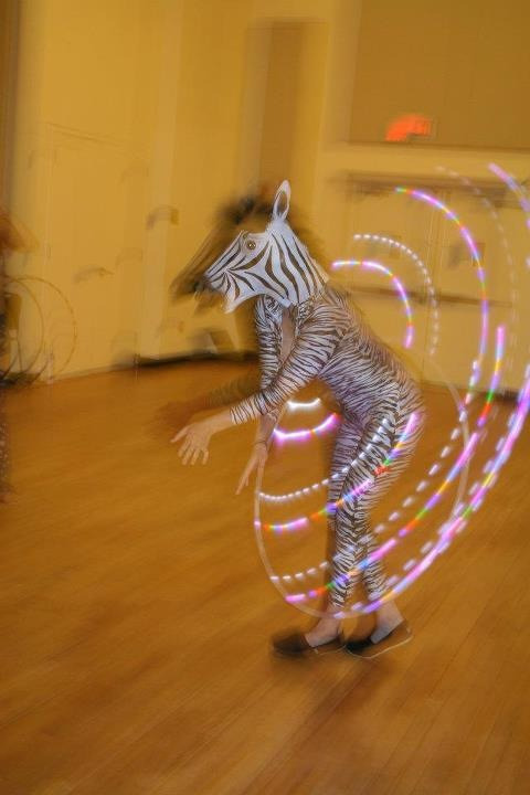 Ever seen a hooping zebra?  *HoopPath6 Carrboro, SC