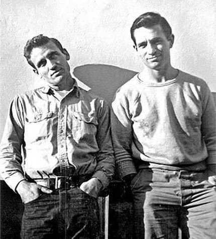 Jack Kerouac and Neal Cassidy