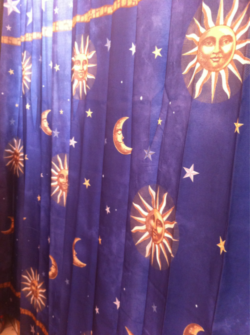 vital-energy:  my shower curtain <3