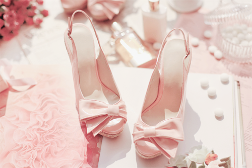 The sweetest heels for the sweetest event.