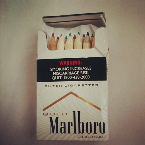 How to quit smoking (Taken with Instagram)