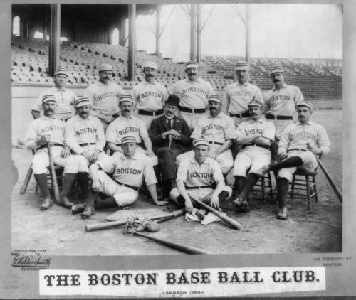 The Boston Baseball Club, 1889.