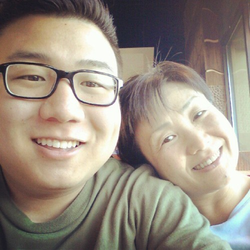 Me and my momma.  (Taken with Instagram)