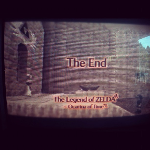 Today was a good day. #n64 #Zelda  (Taken with Instagram)