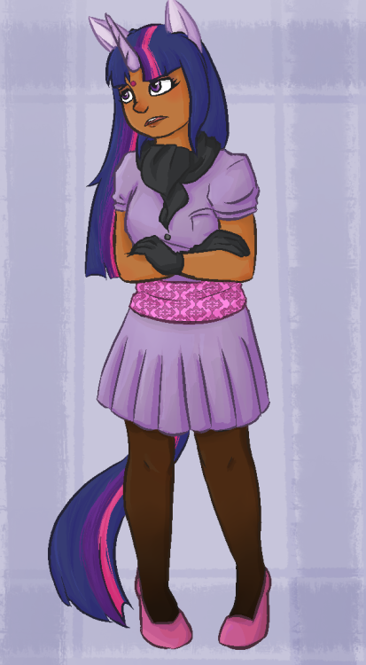 le-rasp:   What if I told you I liked My Little Pony. Probably more humanized ponies to come. Probably.