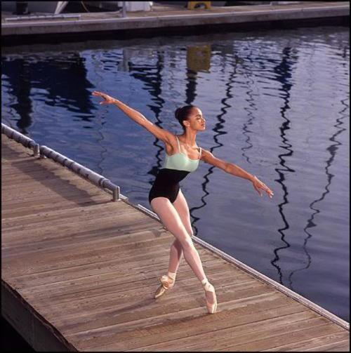 Sixteen year old Misty Copeland.