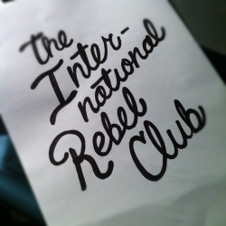 The almighty unstoppable legendary #international #rebelclub   (Taken with Instagram)