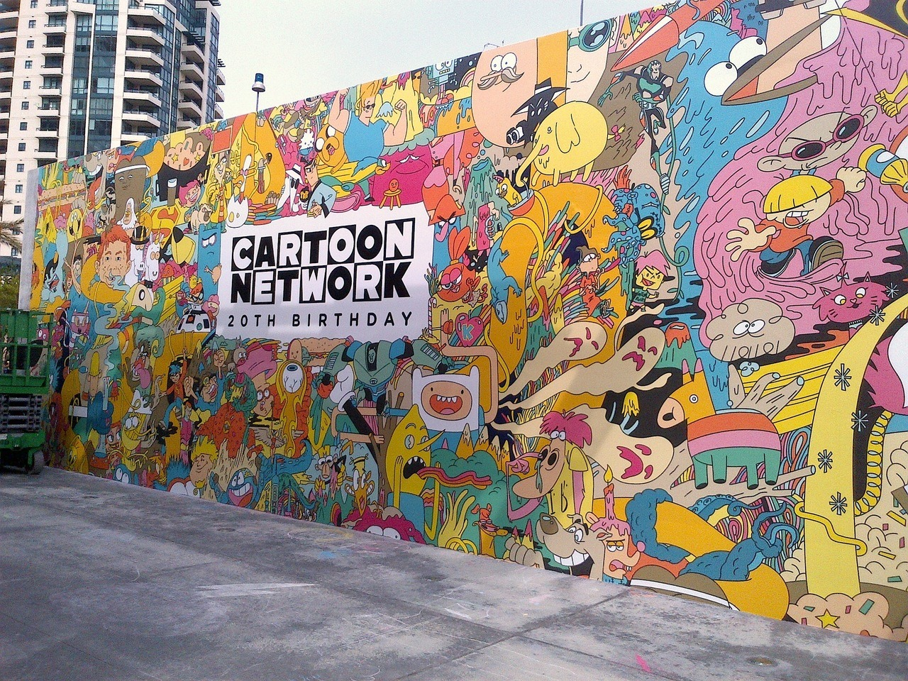 apollonoir:  Cartoon Network Mural :')
