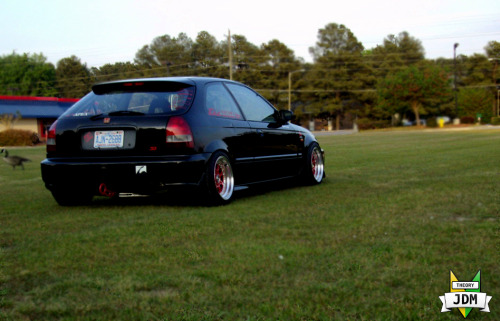 97 Ek hatch. Photo by: TheoryJDM