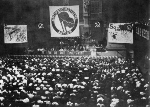 Antifaschistische Aktion turned 80 yesterday! | 1932-2012