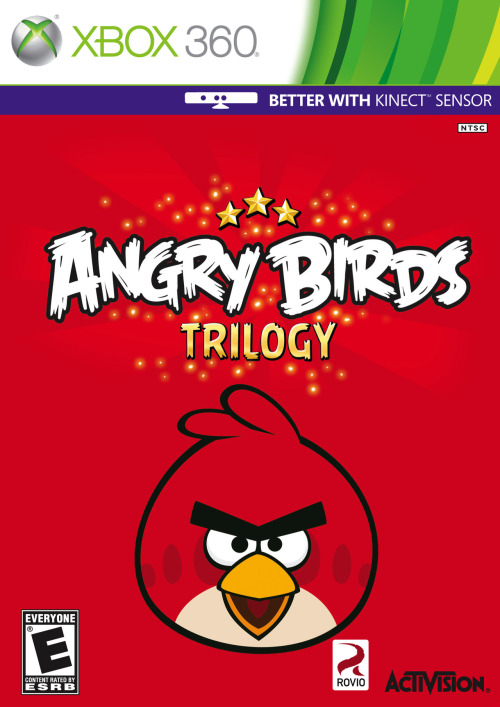 "gamefreaksnz:  Activision confirms ""Angry Birds Trilogy""  Activision has released details on a HD version of Rovio's hit mobile game Angry Birds."