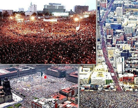 themossikeepinmypockets:  ohmothernature:  The BIGGEST protest ever in Mexico is happening, but almost no media coverage. In some countries like USA and the UK even YouTube videos have been removed.  wait wat what is this what is going on  oh man, what the hell. http://latino.foxnews.com/latino/lifestyle/2012/07/10/mexicans-loudly-protest-election-results-mass-media-quiet/ http://www.forbes.com/sites/nathanielparishflannery/2012/07/09/protest-in-mexico-seeks-to-overturn-election-results/