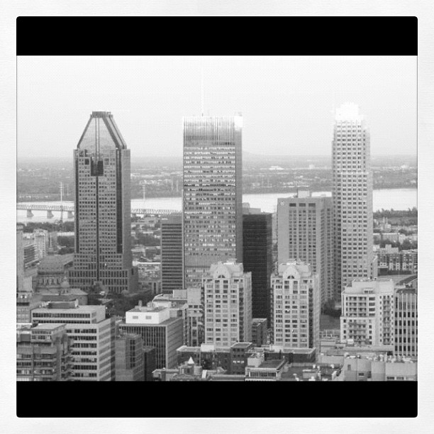 Montreal Downtown from Belvédère - @debmtl - #webstagram by D. Caro