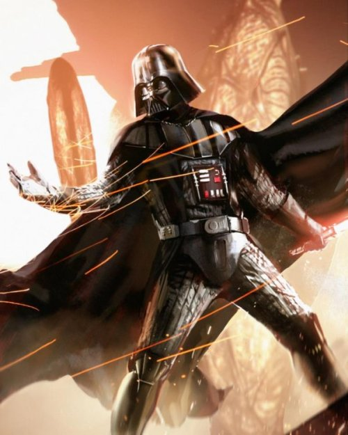 all-about-villains:  Darth Vader - by Espenartman