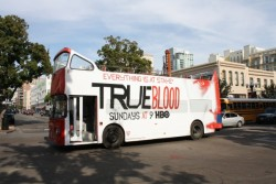 missford1:  True Blood Bus at Comic Con
