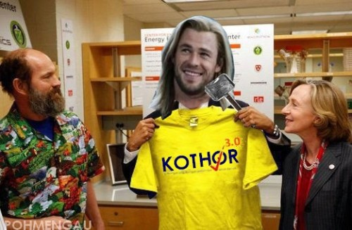 Just Thor having fun with Malaysian political.