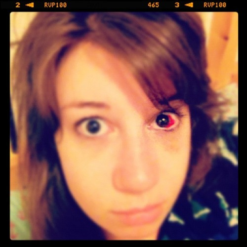 Does anyone know where I can get a chic eyepatch? #demoneye (Taken with Instagram)
