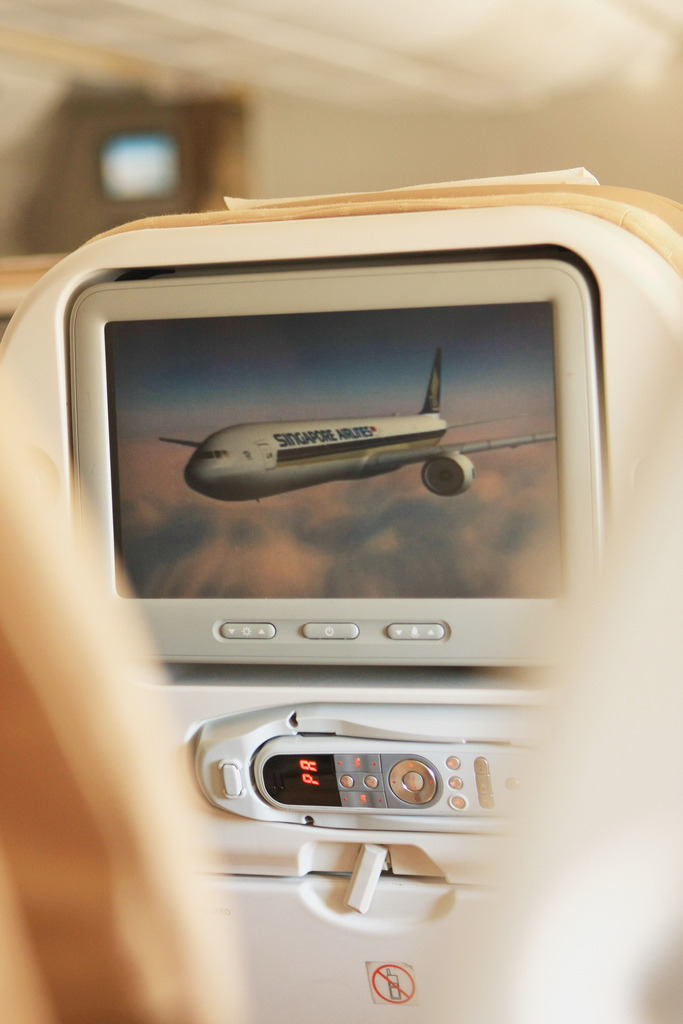 Singapore Airlines Economy Class InFlight Entertainment (by A Sutanto)