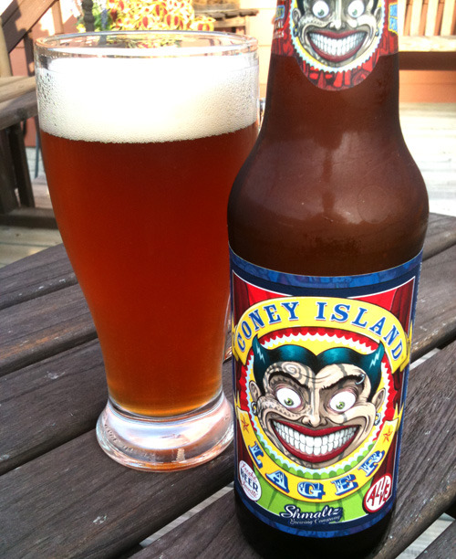 "#69b. American Amber/Red Lager Entry: Schmaltz Brewing's Coney Island Lager (5.5%ABV, New York)The idea of this being a catch-all style rings fairly true. This beer tastes very little like the last (and I'm not sure that I enjoy this). The maltiness is in there, but it's fighting for tongue-time with a decent hop bitterness. It also feels like, even at 5.5%, this beer is struggling to hide that alcohol content, with the malt being blended in with a syrupy sweetness (I read elsewhere that this beer had a 6.6%ABV, which would make sense with this flavor, but the website lists it as 5.5, and it isn't listed on the bottle, so…). There's also a dark fruit taste in there, as well. And burnt flavor? What the hell is going on in this beer? It's like a goddamned alcohol prism, but instead of reflecting light, it's reflecting ""tastes you find in beer."" And it's not a glorious rainbow. It's a sweaty, brown-red glass of ""meh."" It's not so much ""complex,"" like a Trappist Belgian ale can have a bunch of different blended flavors, so much as it's just schizophrenic and maybe trying to shoehorn as much attention-grabbing sensation as possible (perhaps living up to its Coney Island boardwalk sideshow image). I'm gonna go ahead and declare the American Amber/Red Lager a fairly avoidable style. Don't trust a style that has no examples brewed in California (represent, fuckers)."