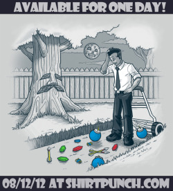 Available today only for 24h on shirtpunch! http://shirtpunch.com/index.php