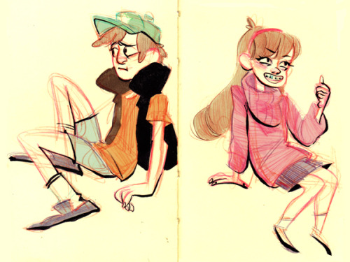 milkmanner:  Gravity Falls is really cute!