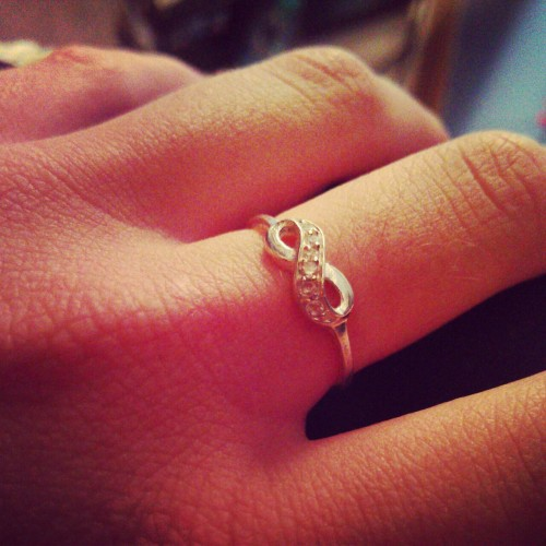 #infinity #ring #fashion #love #beautiful