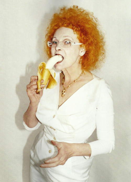 jcm638:  royaume:  Vivienne Westwood photographed by Juergen Teller for i-D Spring 2012   // ]]]]>]]>