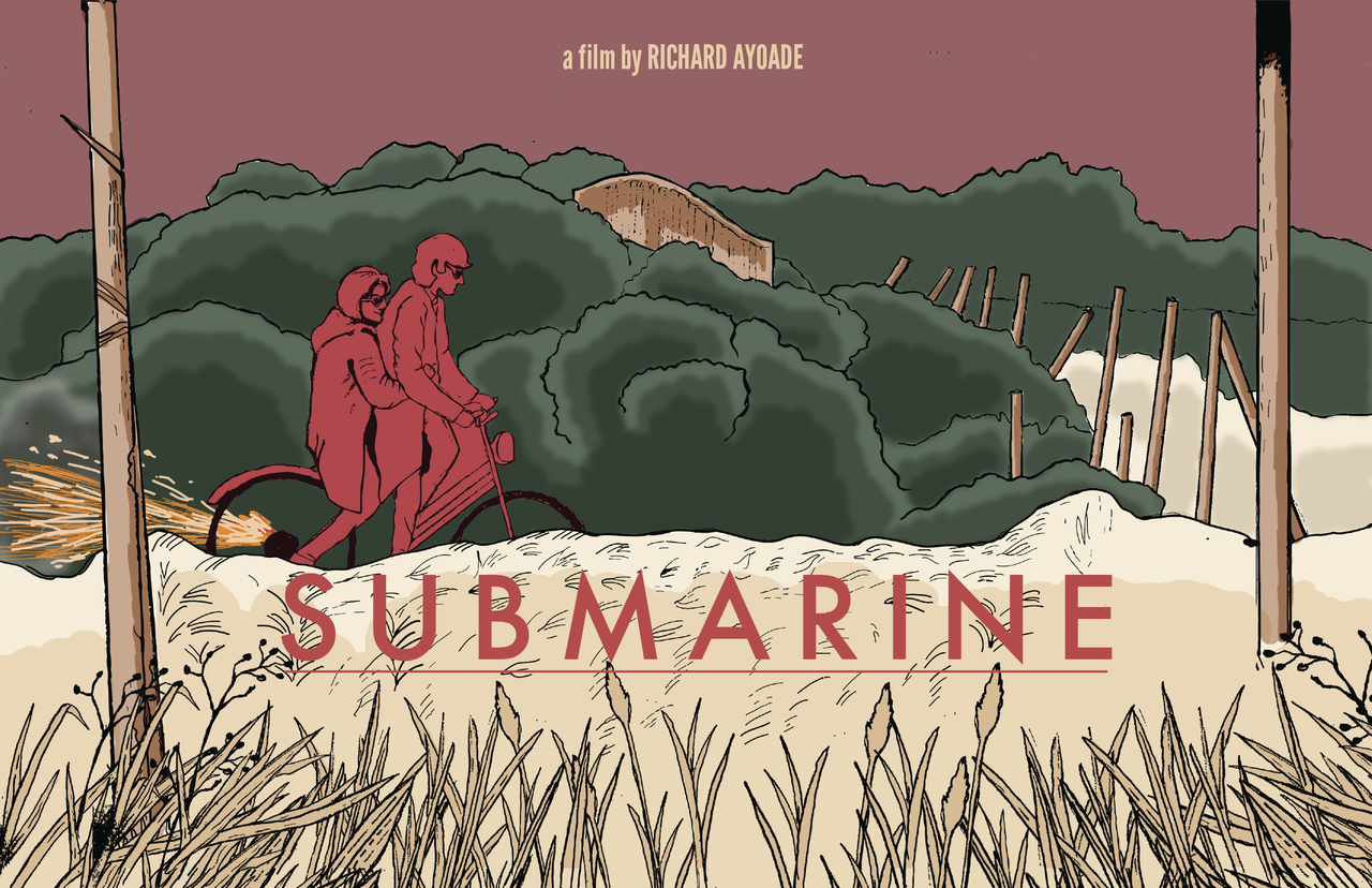 "Illustration I made based on Richard Ayoade's beautiful debut feature ""Submarine""."