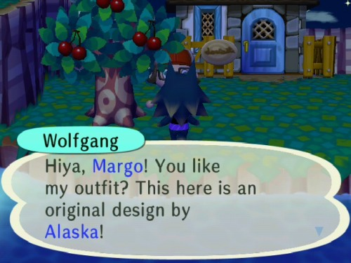 dear wolfgang, that design is a dress you are wearing it as a shirt sincerely, mairead