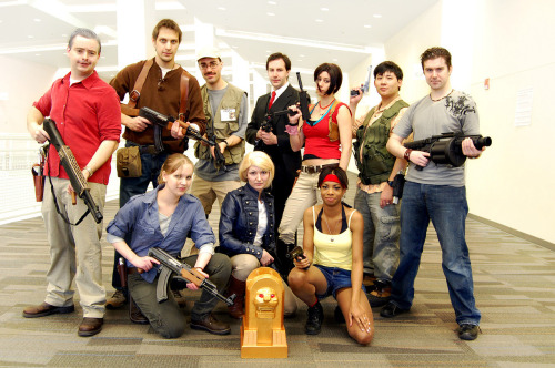 Uncharted cosplay moments. Part one. Photography by Andraiatower.  Ooo! I didn't see the London Streets one before.
